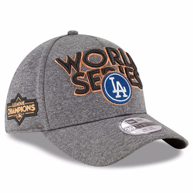 2466bea758c Los Angeles Dodgers Era 2017 NL Champions Locker Room 39thirty Flex ...