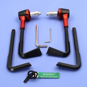 SUNDELY-Lever-Guards-Aluminum-Brake-Clutch-7-8-034-Handlebar-Protection-Bar-Ends