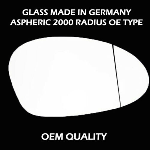 Heated,Aspheric,RHS 2005 To 2008 BMW 3 Series Door Wing Mirror Replacement