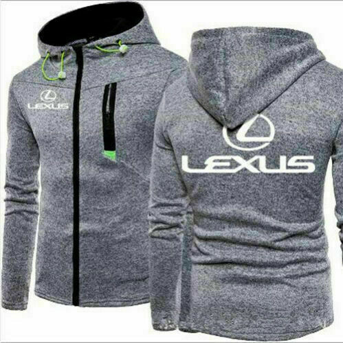 Newest Hot Lexus Hoodie Men Jacket Full Sweatshirts warm Coat