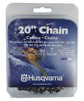 Husqvarna 531300441 20 H80-72 Chainsaw Chain .3/8 By .050 Lowvib Original on sale