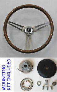 1965-1969-Mustang-Grant-Real-Wood-Steering-Wheel-Walnut-Mustang-Center-15-034