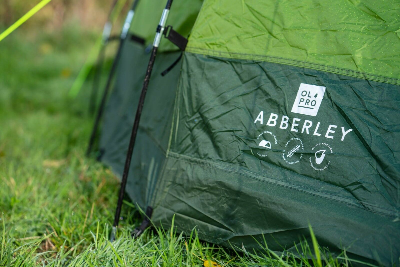2 Berth Person Festival Tent Two Person Berth Weekend Camping Tent - OLPRO Abberley (Grün) b0c380