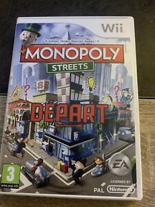 Jeux Wii Monopoly Streets. Complet. Tbe