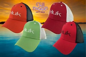 New-Huk-Classic-Mens-Mesh-Back-Snapback-Trucker-Cap-Hat