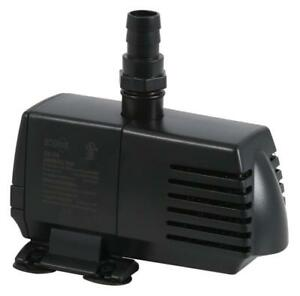 Submersible Water Pump W/ 6 Ft Power Cord Imported From Abroad Ecoplus 396 Gph Aqua Clear And Distinctive 1500 Lph, 20w