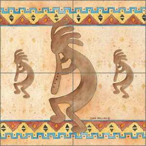 Kokopelli-Tile-Backsplash-Mullen-Southwest-Art-Ceramic-Mural-SM137