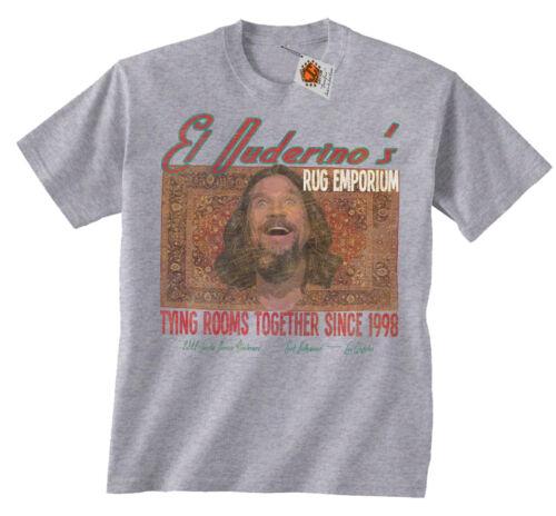 El Duderino Rugs Big Lebowski Inspired Kids T-Shirt