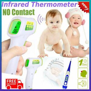 Infrarrojo-Termometro-Digital-LCD-Frente-Sin-Contacto-Bebe-Adulto-pistola-de-temperatura