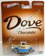 1929 '29 FORD PICK UP TRUCK DOVE CHOCOLATE HOT WHEELS HW RR REAL RIDERS DIECAST