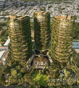 Desarrollo en venta Central Park Cancún Towers en Cancun