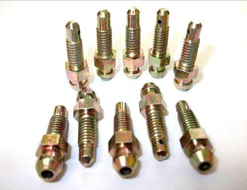 Braking *Top Quality! Brake bleed screws Pack of 5 6mm x 1mm Nipples