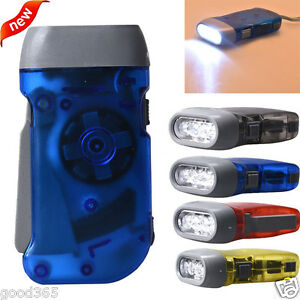 Portable-Wind-up-Hand-Pressing-Crank-Emergency-Camping-LED-Flashlight-Torch-New