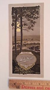 1914-MITCHELL-Partial-Color-Dealer-Folder-Sales-Brochure-Very-Good-condition