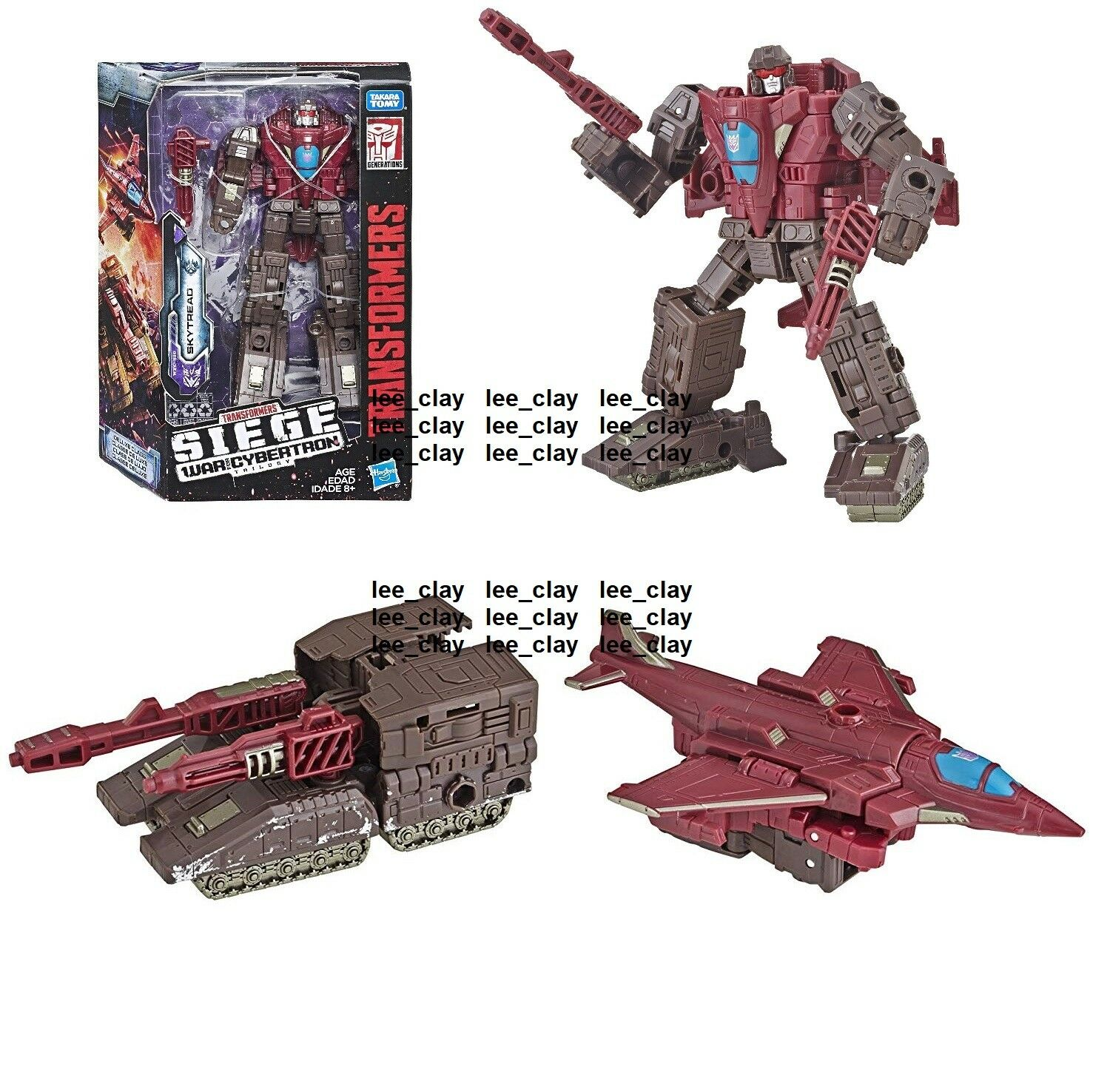 Transformers SIEGE War for Cybertron Deluxe Class SKYTREAD SKYTREAD SKYTREAD TRIPLE CHANGER  NEW  f1757c