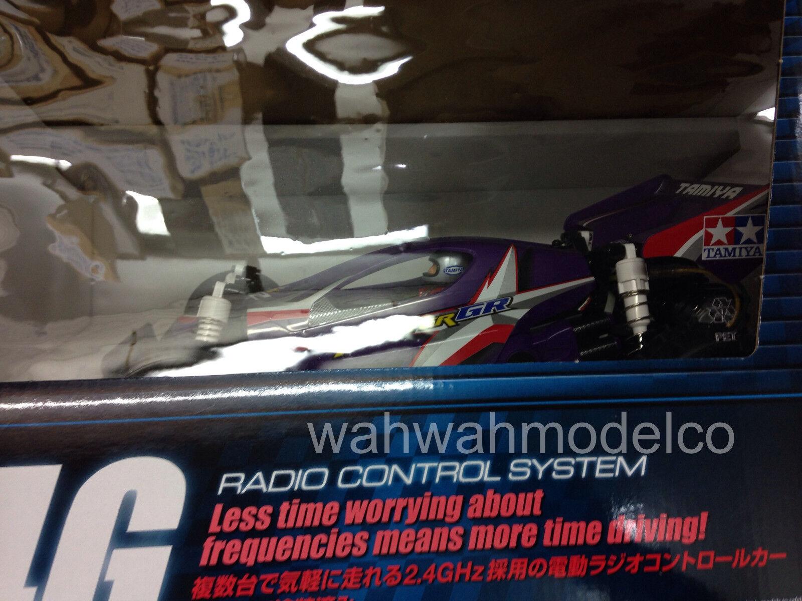 Tamiya 57854 1 10 RC RTR Super Fighter GR - DT02 purple w ESC