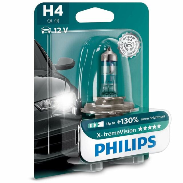 Headlights Philips H4 X treme extreme xtreme Vision Pair 2
