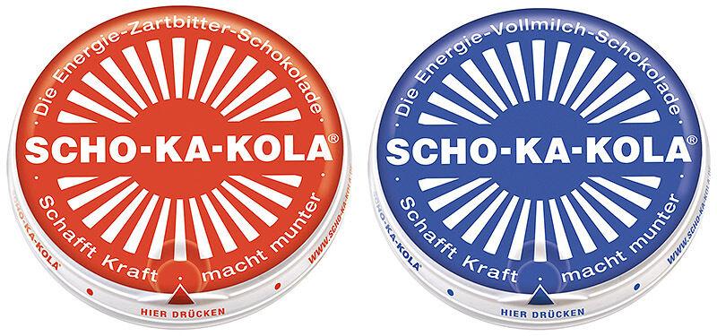 MFH Scho-Ka-Kola Zartbitter Vollmilch Schokolade Outdoornahrung 1x//5x//10x 100g