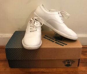 Dinkles White Marching Band Shoes Mens