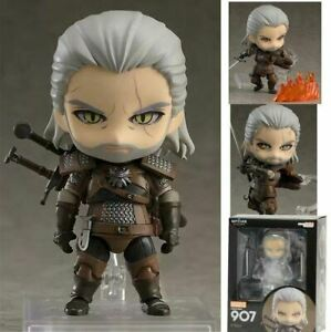 10-cm-Geralt-White-Wolf-action-figure-model-toy-doll-for-gift-PVC-Wild-Hunt-game