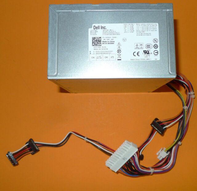 Genuine Dell Optiplex 390 790 990 265w SMT Power Supply L265m-00 053n4