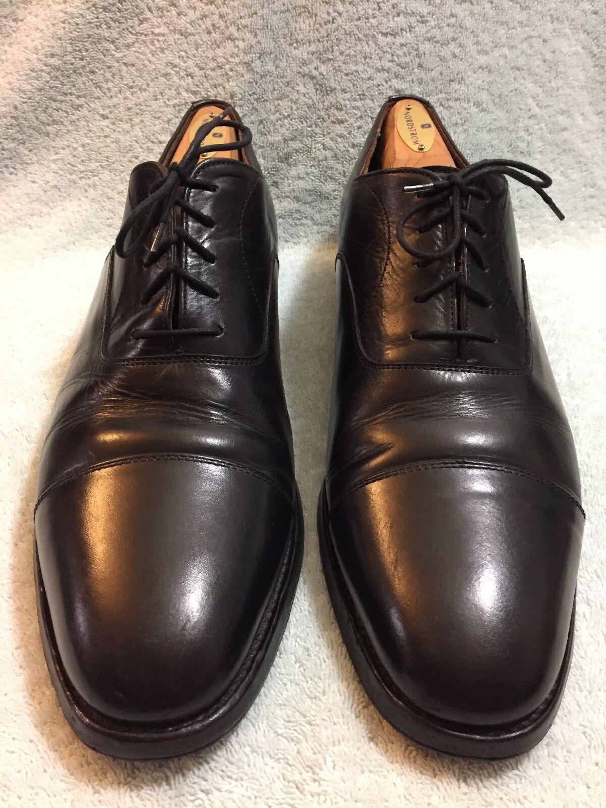 negozio online RARE BOWEN nero Captoe Oxford Oxford Oxford Uomo scarpe Made In England Dimensione 11.5  negozio d'offerta
