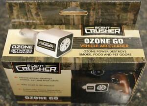 NEW-Scent-Crusher-Vehicle-Ozone-GO-Generator-DC-Power-Odor-Eliminator-59902