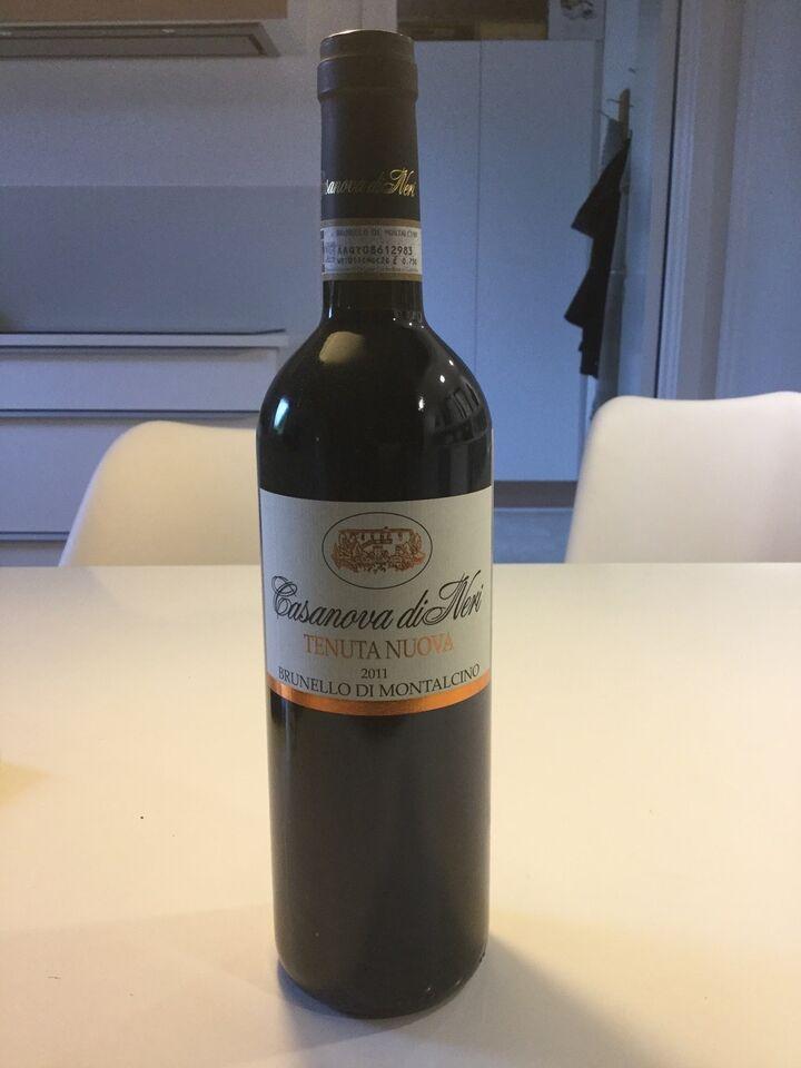 Vin og spiritus, Brunello Casanova De Neri Tenuto 2011