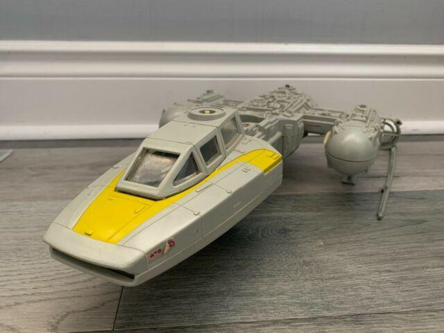 Y-WING BOMBER vintage Star Wars vehicle Kenner 1983 (MISSING PARTS!)