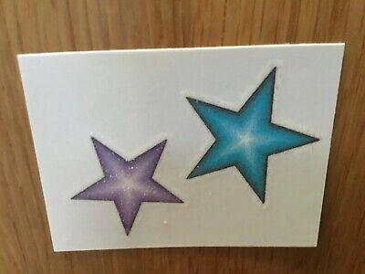 PARTY LOOT BAG FILLERS 10 STAR THEMED TEMPORARY TATTOO