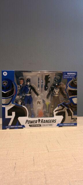 Power Rangers Lightning Collection - S.P.D. Squad B & Squad A Blue Ranger