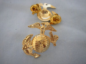 U-S-MARINE-CORPS-HAT-PIN-EAGLE-GLOBE-amp-ANCHOR-VARIATION-P14877