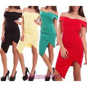 Vestito-donna-miniabito-abito-tubino-asimmetrico-carmen-coppe-nuovo-CJ-2204