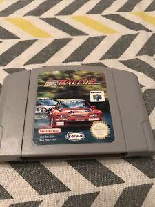 Top Gear Rally 2 NINTENDO 64 N64 Cartucho De Juego ~ versión Reino Unido.
