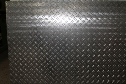 1,5-3,5 mm Aluminium Tafel Alublech Riffelblech Tränenblech Duett AlMg3 Metall