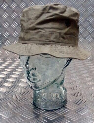 Stile Militare Forze Speciali Boonie Hat Cappello Cespuglio//breve orlo VERDE OD