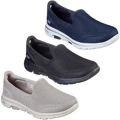 Interpretación Arena sobre  Skechers Gowalk 5 Zapatillas de Mujer Caminar Correr Ligero Memory Foam  Zapatos   eBay