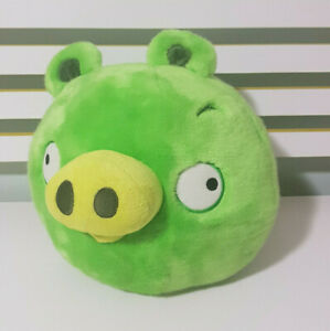 ANGRY-BIRDS-GREEN-PIG-CHARACTER-TOY-34CM-WIDE-27CM-TALL-2011-ROVIO