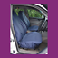 thumbnail 1 - Front Car Van Navy Blue Waterproof LARGE Universal Airbag Compatible Seat Covers
