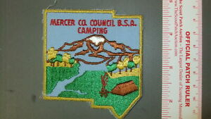 Boy Scout Mercer County Scout Reservation PA 3381II | eBay