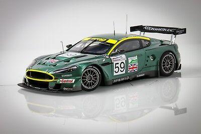 Autoart 80507 Aston Martin Dbr9 24 Hours Of Le Mans 2005 Amr 59 1 18 Ebay