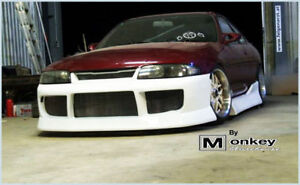NEW-BN-SPORTS-FRONT-BUMPER-FOR-R33-GTS-GTS-T-2-DOOR-COUPE-SEDAN-RB25-RB25-TURBO