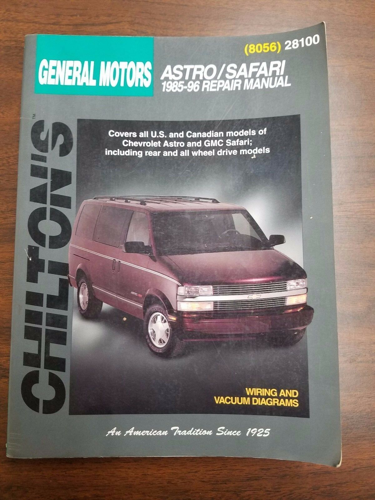 Chilton General Motors Astro Safari 1985-1996 Auto Repair Manual 8056 | eBay