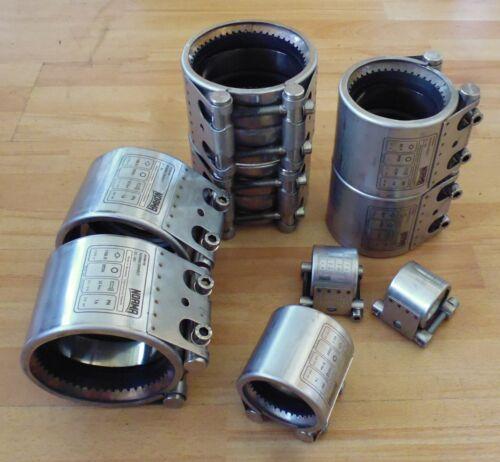 NORMACONNECT Rohrkupplung Grip G1 W4 89200088 Edelstahl 30 Nm PN 16 88,9 mm