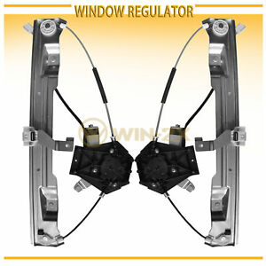Power Window Regulator for 2002-2010 Ford Explorer Rear Right with Motor