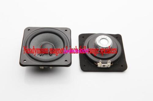 """2pcs For sony 3/""""inch 80MM full-range speakers Loudspeaker Slim 8ohm 15W-30W"""