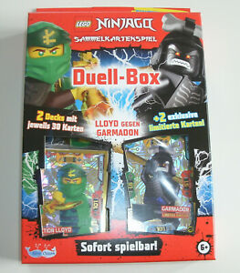 LEGO-Ninjago-Serie-5-Trading-Card-Game-Duell-Box-inkl-2-Limitierte-Karten-NEU