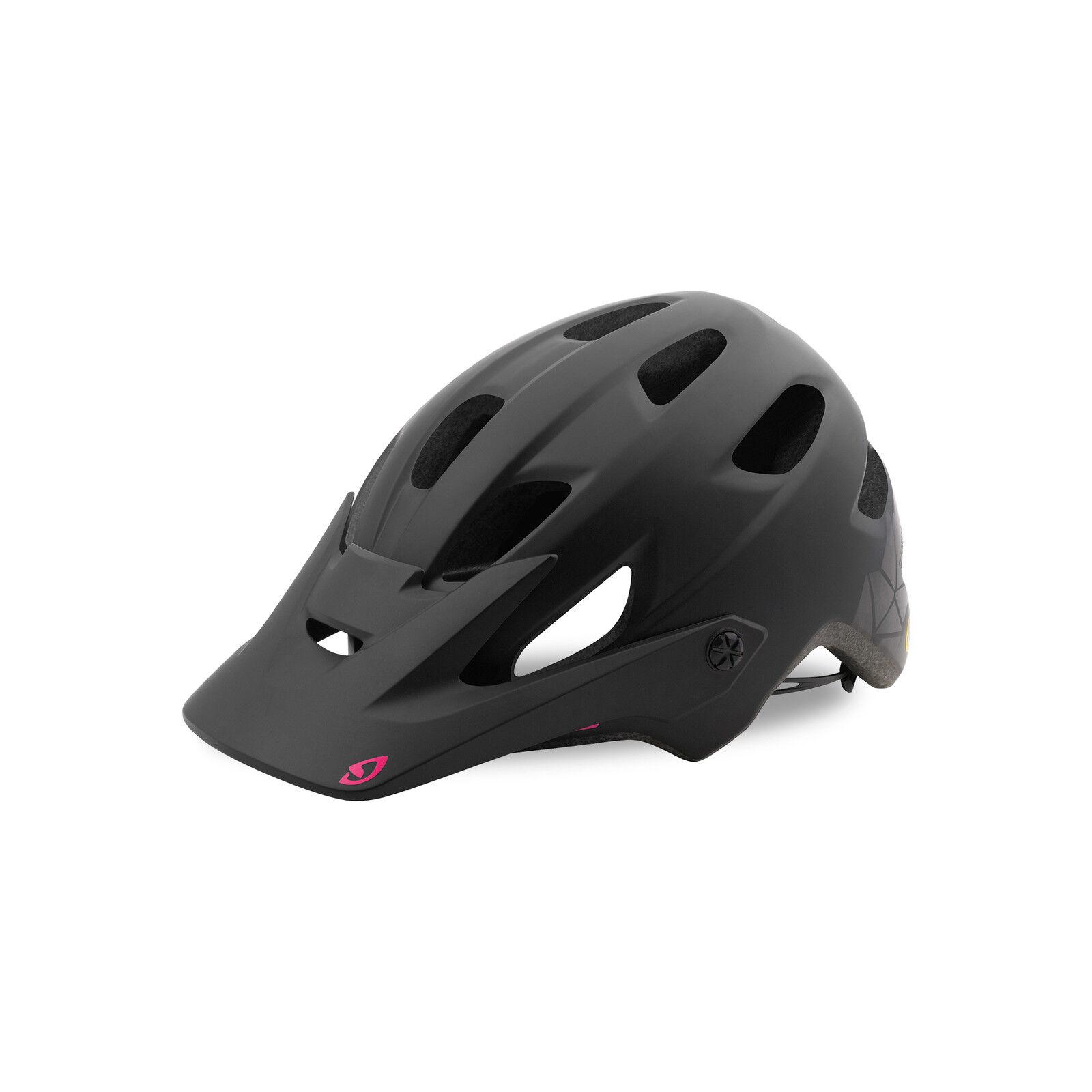 Giro cartelle MIPS donna All Mountain MTB Casco Bicicletta Nero rosa 2019