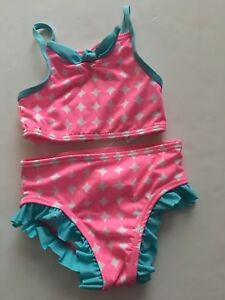 d91dbac028 Penelope Mack Girl Two Piece Bikini Swimsuit Size 12 18 24 Months ...