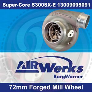 Borg-Warner-S300SX-E-Super-Core-Turbo-72mm-Inducer-Forged-Mill-Wheel-BRAND-NEW
